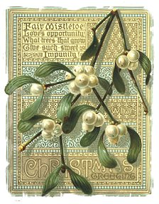 Thomas Crane, Victorian Christmas Card